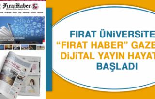 """Fırat Üniversitesi """"Fırat Haber"""" Gazetesi Dijital..."""