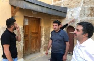 Hüyük'teki tarihi kaplıcalar ve camiler restore...