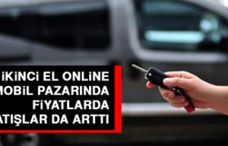 İkinci El Online Otomobil Pazarında Fiyatlarda Satışlar...