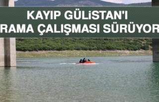 Kayıp Gülistan'ı Arama Çalışması Sürüyor