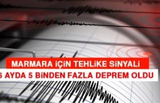 Marmara İçin Tehlike Sinyali: 6 Ayda 5 Binden Fazla...