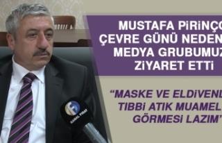 Mustafa Pirinçci, Çevre Günü Nedeniyle Açıklama...