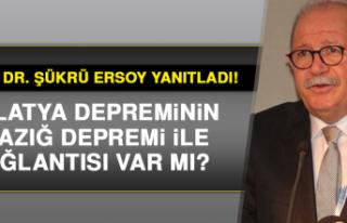 Prof. Dr. Şükrü Ersoy yanıtladı! Elazığ depremi...
