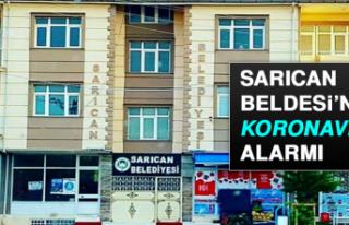 SARICAN BELDESİ'NDE KORONAVİRÜS ALARMI
