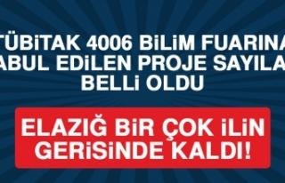 TÜBİTAK 4006 Bilim Fuarına Kabul Edilen Proje Sayısı...