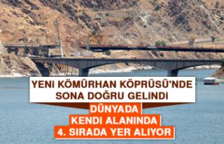 Yeni Kömürhan Köprüsü'nde Sona Doğru Gelindi