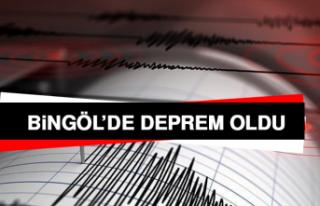 Bingöl'de Deprem