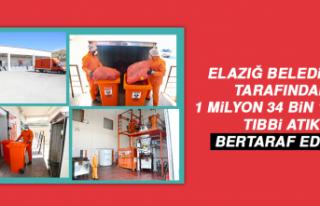 Elazığ Belediyesi Tarafından 1 Milyon 34 Bin 189...