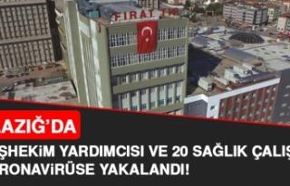 Elazığ'da Koronavirüs Vaka Sayısı Artıyor!...