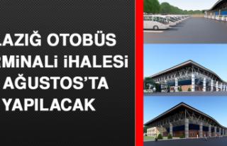 Elazığ Otobüs Terminali İhalesi 5 Ağustos'ta...