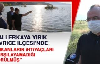 Elazığ Valisi Erkaya Yırık, Üç Haftalık Görev...