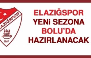 Elazığspor, Yeni Sezona Bolu'da Hazırlanacak