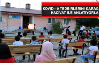 Kovid-19 Tedbirlerini Karagöz ve Hacivat İle Anlatıyorlar