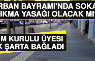 Kurban Bayramı'nda Sokağa Çıkma Yasağı...