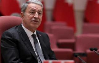 Milli Savunma Bakanı Akar: Vazgeçmemiz söz konusu...