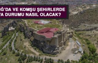 7 Ağustos'ta Elazığ'da Hava Durumu Nasıl Olacak?