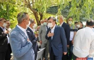 AK Parti Genel Başkan Yardımcısı Cevdet Yılmaz,...