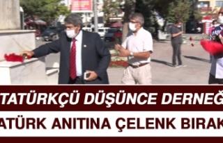 Atatürkçü Düşünce Derneği, Atatürk Anıtı'na...