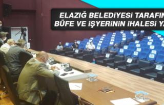 Elazığ Belediyesi Tarafından Büfe ve İşyerinin...