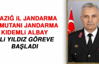 Elazığ İl Jandarma Komutanı Jandarma Kıdemli...