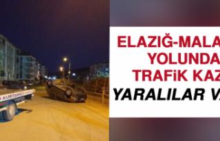Elazığ- Malatya Yolunda Trafik Kazası: Yaralılar...