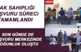 Elazığ'da Hak Sahipliği Başvuru Süreci Tamamlandı