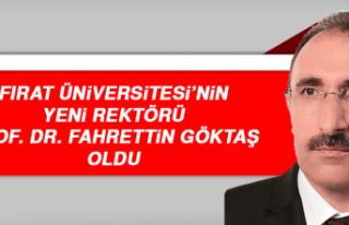 Fırat Üniversitesi'nin Yeni Rektörü Prof. Dr....