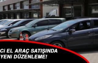 İkinci el araç satışında yeni düzenleme!