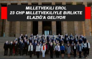 Milletvekili Erol, 23 CHP Milletvekiliyle Birlikte...