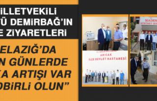 Milletvekili Zülfü Demirbağ'ın İlçe Ziyaretleri