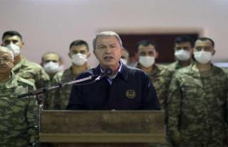 Milli Savunma Bakanı Hulusi Akar'dan flaş Libya...