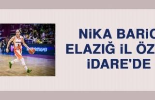 Nika Baric, Elazığ İl Özel İdare'de