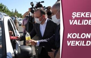 Vali Yırık ve Milletvekili Bulut Kontrol Noktalarını...