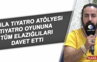 Almila Tiyatro Atölyesi Tiyatro Oyununa Tüm Elazığlıları...
