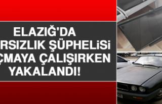 Elazığ'da 4 Hırsızlık Şüphelisi Kaçmaya...