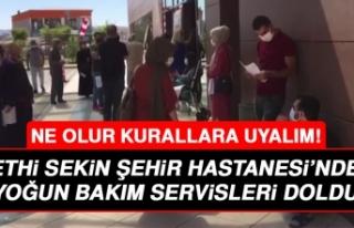 Elazığ Fethi Sekin Şehir Hastanesi'ndeki Yoğun...