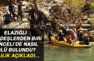 ELAZIĞLI KARDEŞLERDEN BİRİ TUNCELİ'DE NASIL...