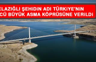 Elazığlı Şehidin Adı Türkiye'nin 4'üncü...