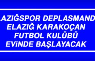 Elazığspor Deplasmanda, Elazığ Karakoçan Futbol...