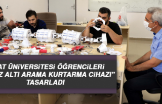 """Fırat Üniversitesi Öğrencileri """"Enkaz Altı..."""