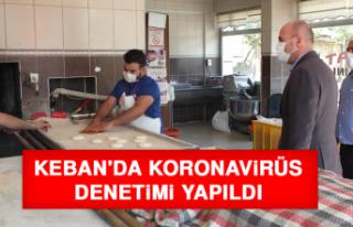Keban'da Koronavirüs Denetimi Yapıldı