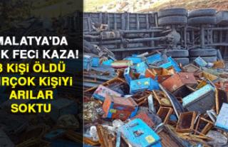 Malatya'da çok feci kaza! 3 kişi öldü, birçok...
