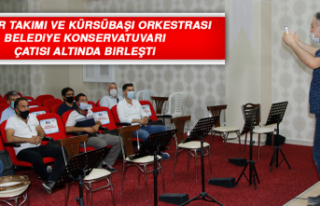 Mehter Takımı ve Kürsübaşı Orkestrası, Belediye...