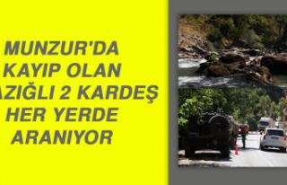 Munzur'da Kayıp Olan Elazığlı 2 Kardeş Her...