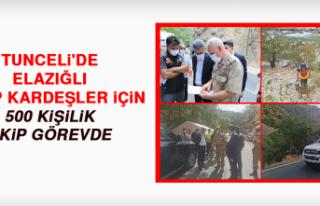 Tunceli'de Elazığlı Kayıp Kardeşler İçin...