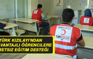 Türk Kızılayı'ndan Dezavantajlı Öğrencilere...