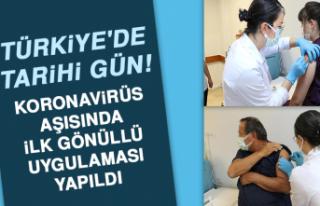 Türkiye'de tarihi gün! Koronavirüs aşısında...