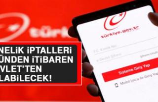 Abonelik İptalleri Bugünden İtibaren e-Devlet'ten...