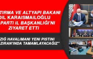 Bakan Karaismailoğlu, AK Parti İl Başkanlığı'nı...