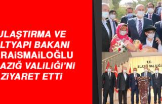 Bakan Karaismailoğlu, Elazığ Valiliği'ni Ziyaret...
